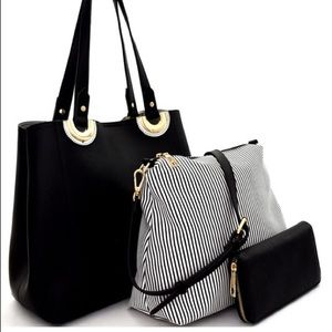 3pc Hobo Bag Set